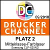 Drucker Channel Platz 2
