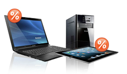 Outlet für Notebooks, Tablets & PCs