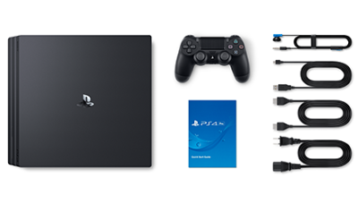 <strong>Sony PlayStation 4 Pro</strong> Lieferumfang