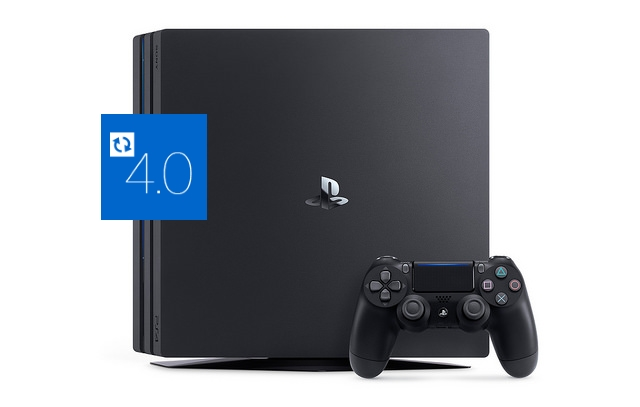 <strong>Sony PlayStation 4 Pro</strong> mit aktuellster Firmware
