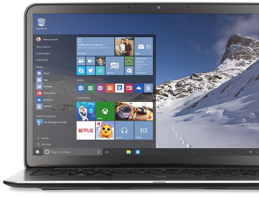 Windows 10 bei computeruniverse