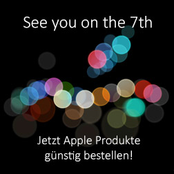 Apple Keynote am 7. September 2016 – das Apple iPhone 7 kommt!