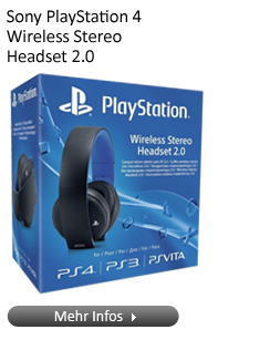 Sony PlayStation 4 Wireless Stereo Headset 2.0