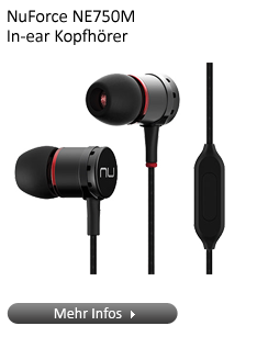 NuForce NE750M In-ear Kopfhörer