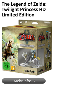 The Legend of Zelda: Twilight Princess HD Limited Edition (Wii U) mit Midna / Wolf-Link amiibo