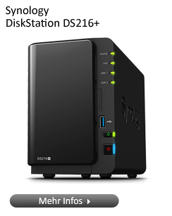 Synology DiskStation DS216 NAS-Serie