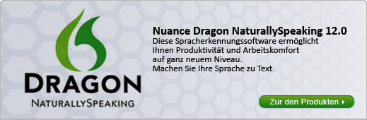 Nuance Dragon 12 Spracherkennung