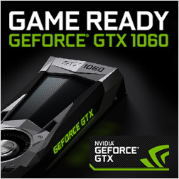 Game Ready mit den GeForce GTX 1060 Grafikkarten