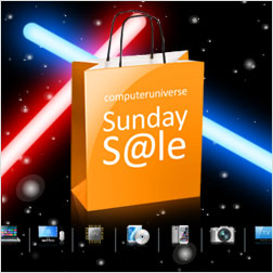 Der Sunday Sale bei computeruniverse